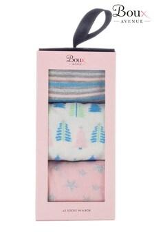 Boux Avenue 3PK Boxed Socks