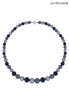 Jon Richard Pearl Multi Tonal Magnetic Necklace