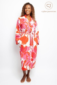 Cyberjammies Floral Print Long Robe