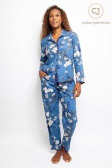 Cyberjammies Floral Print PJ Set