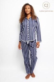 Cyberjammies Stripe PJ Set