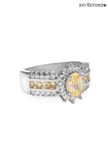 Jon Richard Yellow Sunflower Ring