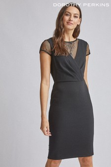 Dorothy Perkins Lace Mix Bodycon Dress