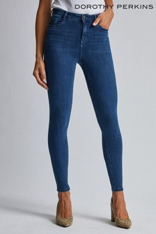 Dorothy Perkins Mid-Wash 4 Way Stretch Jeans