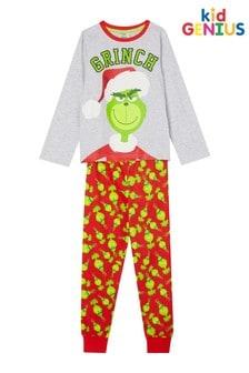 Kids Genius Grinch Licensed PJ Set