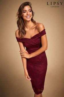 Облегающее платье Lipsy Bardot