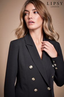 Lipsy Double Breasted Military Jacket