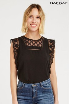 Naf Naf Sleeveless Blouse