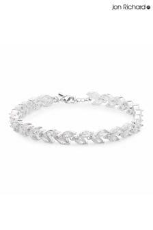 Jon Richard Cubic Zircnonia Multi Navette Bracelet