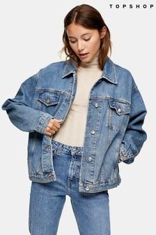 Topshop Oversized Jacket