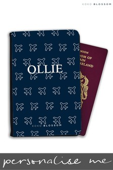 Personalised Fly Away Passport Cover By Koko Blossom