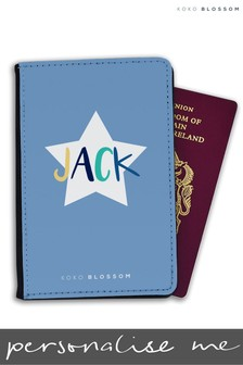 Personalised Passport Cover By Koko Blossom