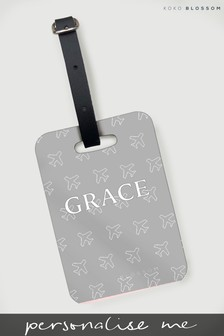 Personalised Fly Away Luggage Tag By Koko Blossom