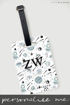 Personalised Luggage Tag By Koko Blossom