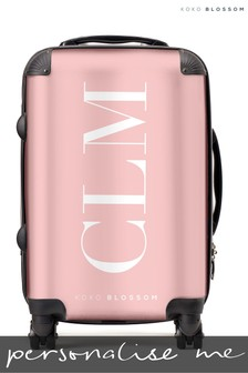 Personalised Large Initials Cabin Suitcase By Koko Blossom