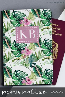 Personalised Totally Tropical Passport Cover