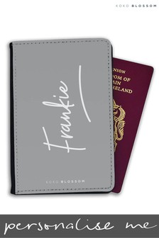 Personalised Signature Passport Cover By Koko Blossom