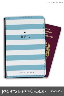 Personalised Laneways Passport Cover By Koko Blossom