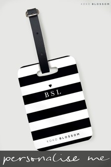 Personalised Laneways Luggage Tag By Koko Blossom
