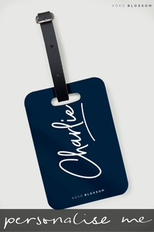 Personalised Signature Luggage Tag By Koko Blossom