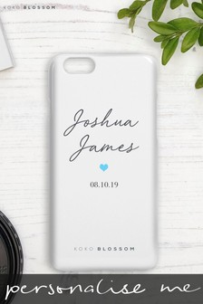 Personalised Baby Boy Phone Case By Koko Blossom