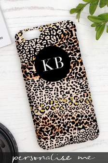Personalised Leopard Print Phone Case By Koko Blossom
