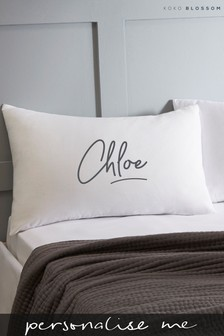 Personalised Signature Pillowcase By Koko Blossom