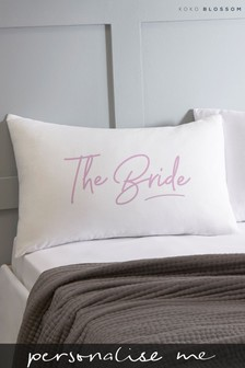 Personalised Lipsy Bride Pillowcase By Koko Blossom