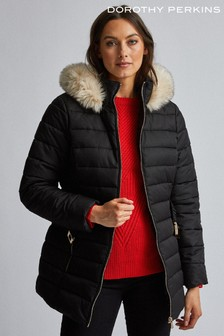 Dorothy Perkins Short Luxe Padded Jacket
