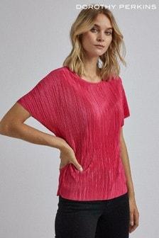 Dorothy Perkins Kastiges, plissiertes T-Shirt