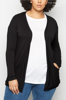 New Look Curve Jersey Cardigan