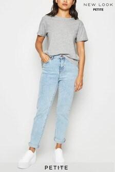 New Look Petite Organic Cotton Roll Sleeve T-Shirt
