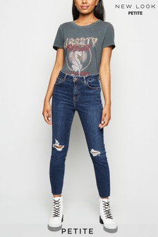 New Look Petite High Rise Lift And Shape Skinny Jeans