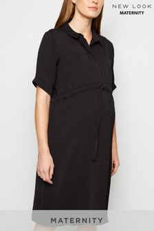New Look Maternity Drawstring Waist Dress