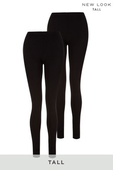 New Look Tall 2 Pack Long Length Leggings