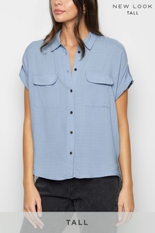 New Look Short Sleeve Utility Shirt