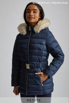 Dorothy Perkins Petite Short Luxe Padded Jacket