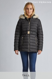 Dorothy Perkins Tall Short Lux Padded Jacket