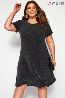 Yours Curve Brillo Swing Dress