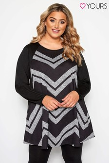 Yours Curve Pocket Tunic