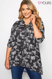 Yours Curve Jersey Tunic Shirt
