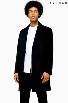 Topman Single Breasted Coat