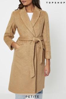Topshop Dt Manhattan Belted Coat