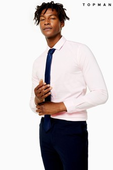 Topman Stretch Slim Fit Shirt