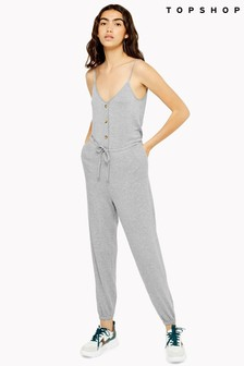 Topshop Super Soft Lounge Jumpsuit