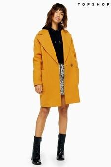 Topshop Slouch Coat
