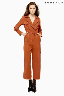 Topshop Topstitch Flying Jumpsuit