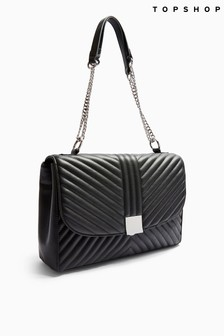 Topshop Sofia Quilted Shoulder Bag