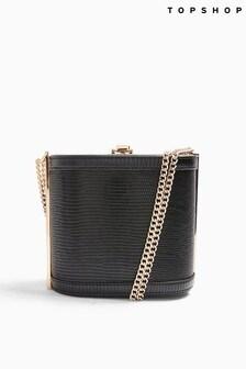Topshop Sadie Boxy Shoulder Bag