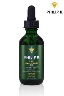 Philip B CBD Scalp + Body Oil 60ml